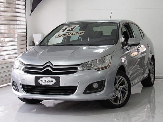 Citroën C4 Lounge 1.6 Exclusive 16v Turbo Automático 2014
