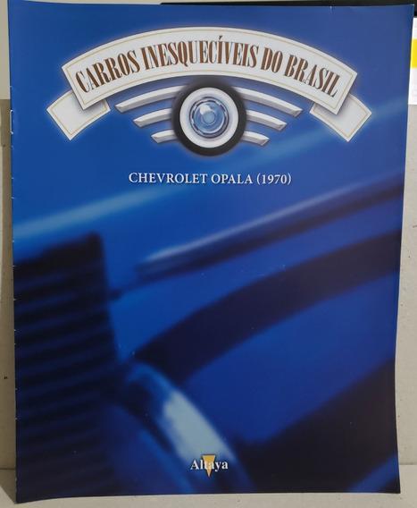 Fascículo Carros Inesquecíveis - Ed 149 Opala 1970