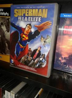 Superman Vs La Elite Dc Comics Dvd Original