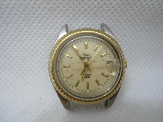 Relógio Timex Quartz Funcionando Original Usado