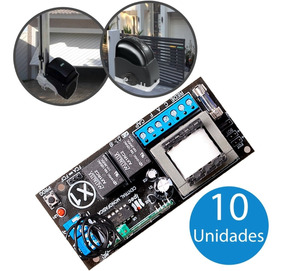 Kit 10 Central Portão Eletrônico Universal (marcas)