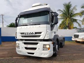 Iveco Stralis 400 6x2 2014 Teto Alto Baixo Km Finan 410 380