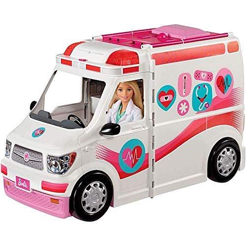Vehículo De La Clínica De Cuidado De Barbie