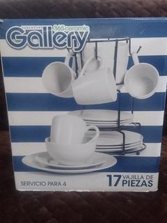 Vajilla De 17 Piezas Gallery 365 Ceramica