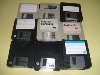 Lote De 100 Diskettes Usados Para Artesanías Decoracion