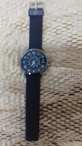 Relógio Masculino, V8 Collection, Pulseira Preta, Cod. 00352