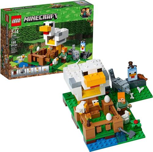 Lego Minecraft 21140 El Gallinero 198 Pzs
