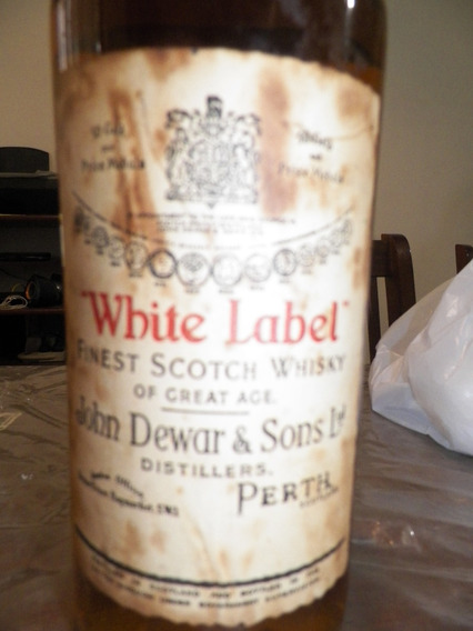 Remato! Botellon Whisky John Dewar White Label 1967 Scotland