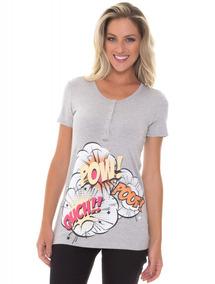 Kit Mamãe E Bebê Recco Camiseta + Body Viscose 09788