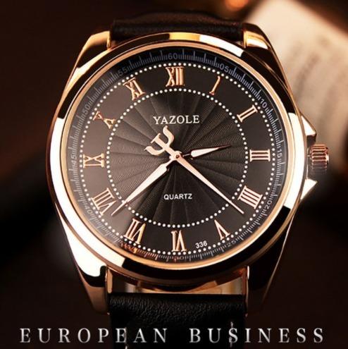 Relógio Executivo Social Unissex Yazole 336