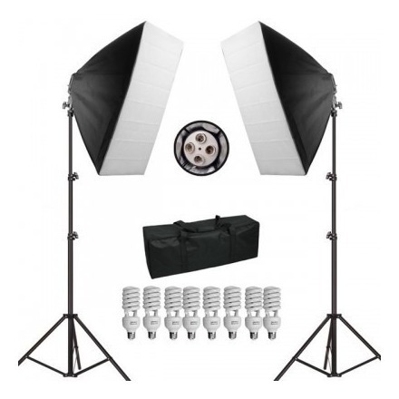 Kit Iluminação Softbox Greika Sb-01