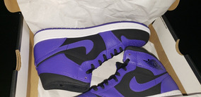 Air Jordan 1 Mid Dark Concord Purple