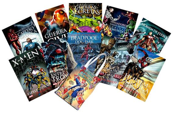 Livros Da Marvel E Dc