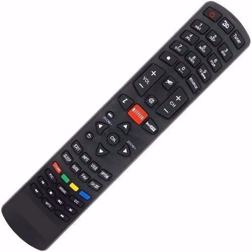 Controle Remoto Tv Led 3d Philco Ph58e30dsg Tecla Netflix