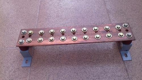 Oferta -barra 20 X4 X1/4  Base,aisladores,tornillos  Nueva