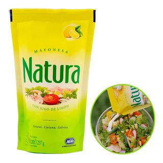 Mayonesa Natura 250g Jugo De Limon Aderezo Liviana Unidad