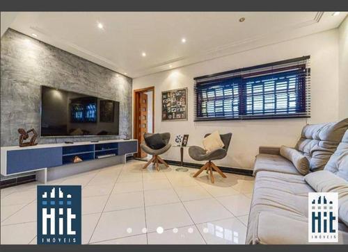 Imagem 1 de 25 de Sobrado Com 3 Dormitórios À Venda, 300 M² Por R$ 1.150.000,00 - Vila Brasílio Machado - São Paulo/sp - So0606