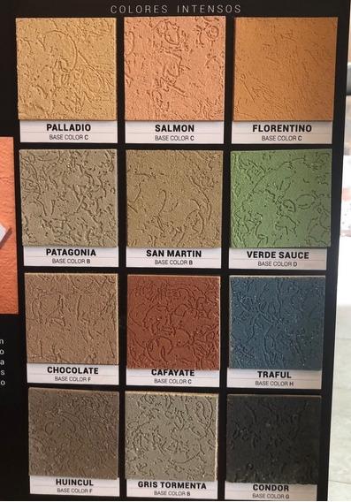 Revestimiento Tarquini Impermeable Raya 2 Colores Intensos