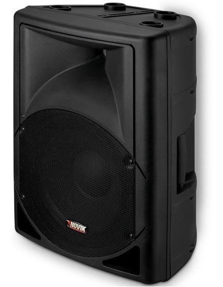 Caixa De Som Amplificada Novik Neo Evo250a Usb 250w Rms