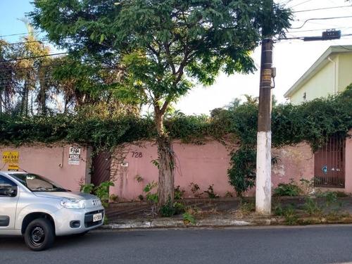 Imagem 1 de 5 de Terreno À Venda, 736 M²  - Parque São Diogo - São Bernardo Do Campo/sp - Te4344