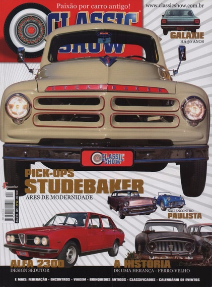 Classic Show Nº92 Studebaker Pick-up Alfa Romeo 2300 Vinhedo