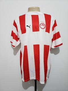 Camisa Futebol Olympiacos Grécia 2006 Home Puma Tam G