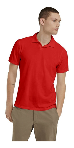 Playera Tipo Polo Para Sublimar Dama Y Caballero Dry Fit