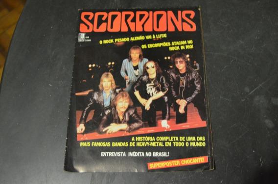 Scorpions Somtrês Revista Pôster