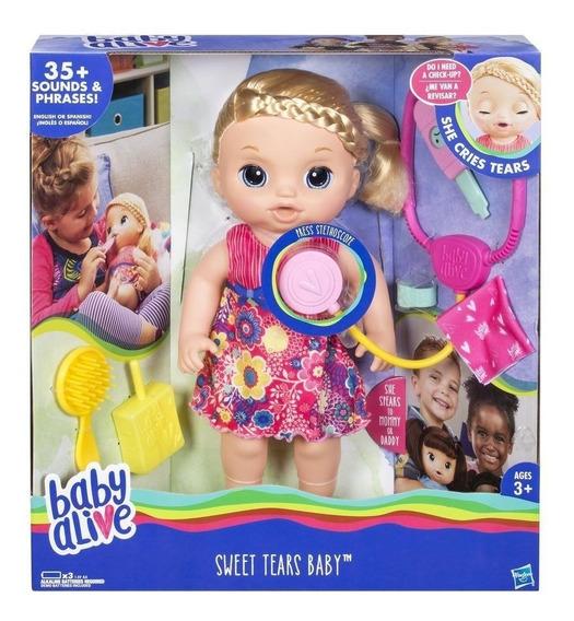 Baby Alive Doce Lágrimas Loira -original