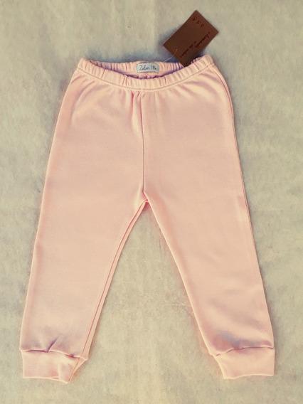 Pantalón C/ Puño 100% Algodón - Talles 12 M, 18 M Y 24 M -