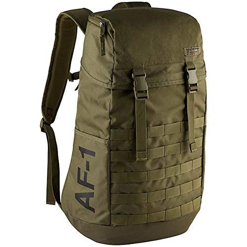 Mochila Nike Af1 Air Force 1 One Backpack Medium Olive/black