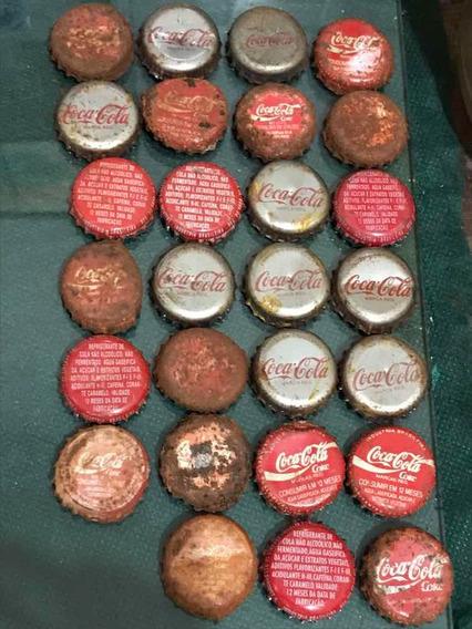 Tampinhas Coca Cola Antigas 27 Peças
