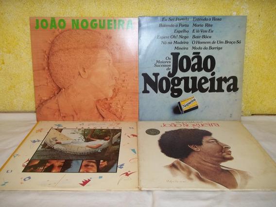 Lp Vinil - Lote 4 Discos João Nogueira