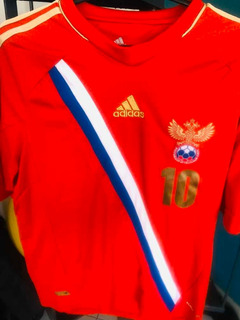 Camisa De Futebol Da Rússia