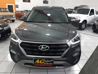 Hyundai Creta Prestige 2019 Cinza 2.0 Flex Autom Top 5000 Km
