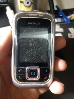 Celular Nokia 6111 5/18 Ler Descrição