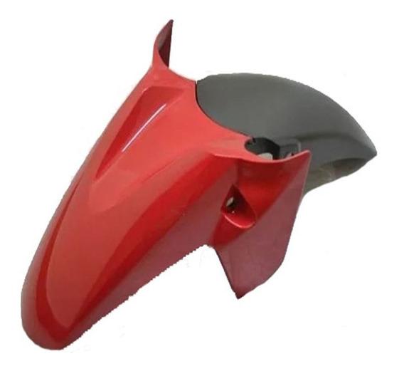 Paralama Dianteiro A + B Cb Twister 250 Vermelho Mod Origina