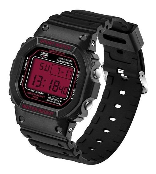 Relógio Digital Importado Sanda 329 Estilo Sport