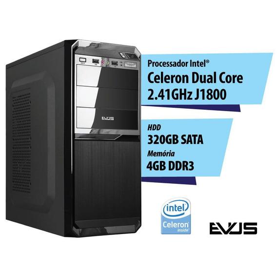 Microcomputador Desktop Evus Modelo Elementar 324
