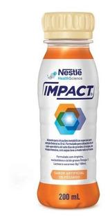 Impact Nestle 200ml - Pessego - Kit Com 6 Unidades