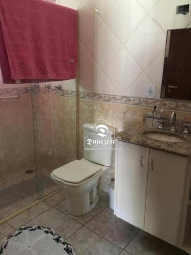 Sobrado Com 3 Dormitórios À Venda, 200 M² Por R$ 749.000,00 - Vila Camilópolis - Santo André/sp - So3210