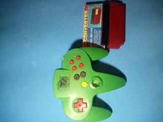 Control Tipo N64 Con 30 Juegos Incluidos. Tambien Famico/nes