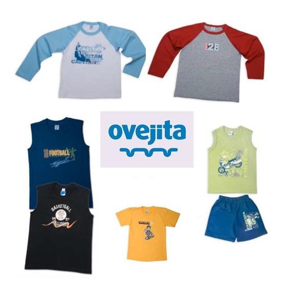 Camisetas Ovejita Sueter Franela Conjunto Niño De Algodon
