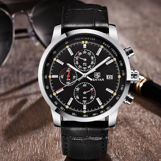 Relógio - Benyar - Sport - 43mm - Multifuncional - Estoque