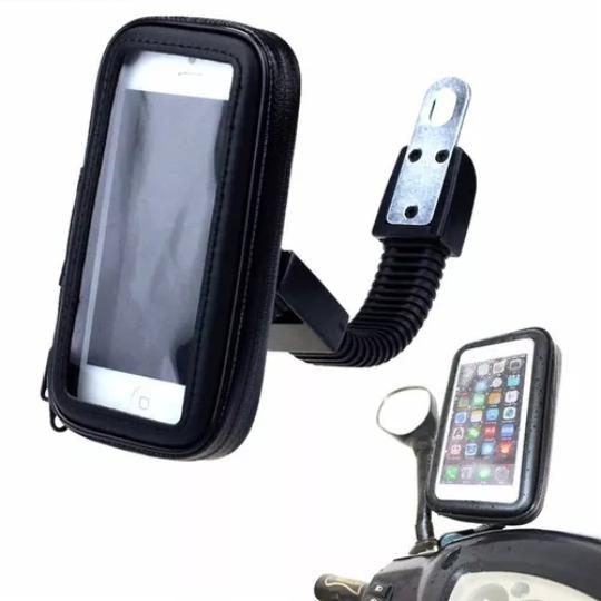 Suporte Impermeável Para Moto Bike Gps Case