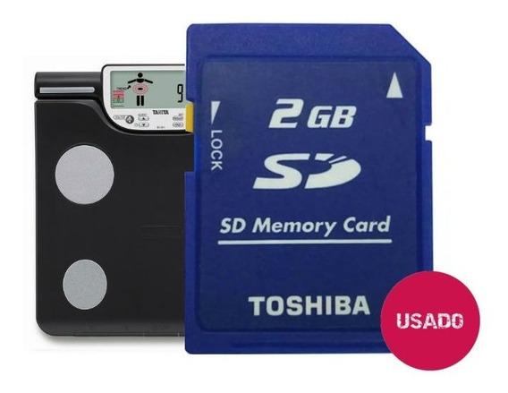 Cartão De Memória Sd 2gb / Tanita Bc-601