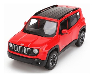 Raríssima Miniatura Jeep Renegade 1/24 Linda E Rara