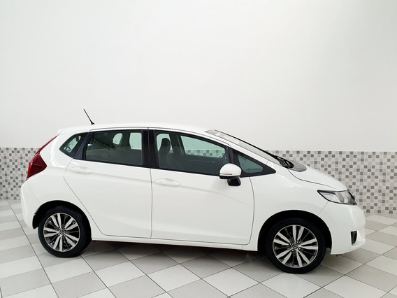 Honda Fit Exl 1.5 Flex 2017 Branco Automático Único Dono