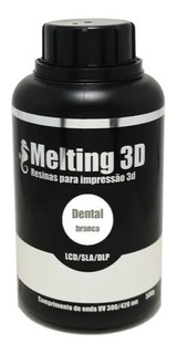 Resina Melting 3d - Branca - Dental
