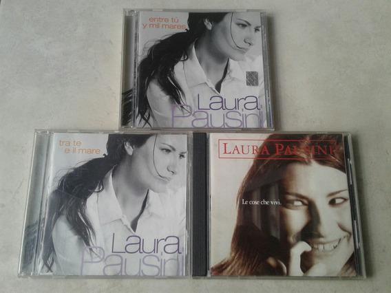 Laura Pausini - Lote 3 Cds Alemania / Nacional Italiano